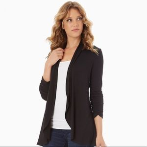 A New Day Black Knit Long Sleeve Cardigan